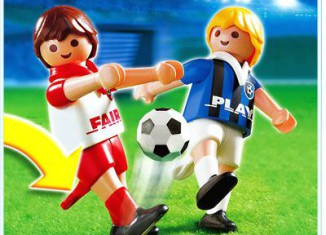 Playmobil - 4702 - 2 Fußballspieler