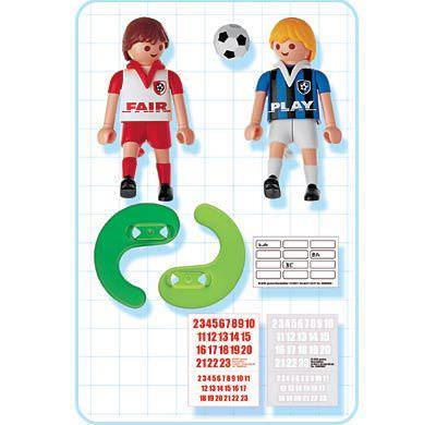 Playmobil 4702 - 2 Fußballspieler - Back