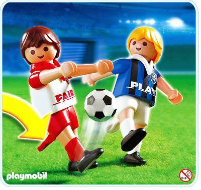 Playmobil Set 4702 2 Fussballspieler Klickypedia