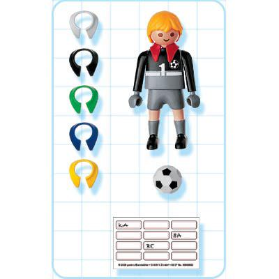 Playmobil 4704 - Goalie - Back