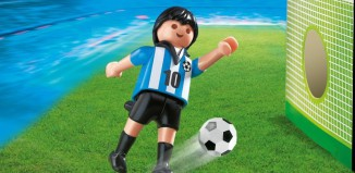 Playmobil - 4705 - Soccer Player - Argentina