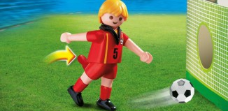 Playmobil - 4706 - Soccer Player - Belgium