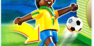 Playmobil - 4707 - Soccer Player - Brazil