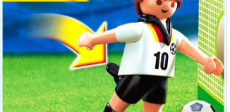 Playmobil - 4708 - Soccer Player - Germany