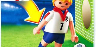 Playmobil - 4709 - Soccer Player - England