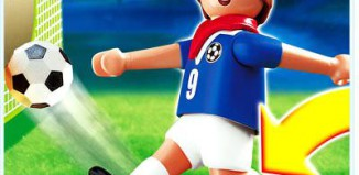 Playmobil - 4710 - Soccer Player - France