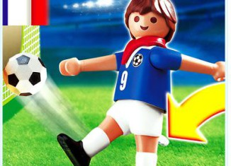 Playmobil - 4710 - Soccer Player - France