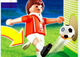 Playmobil - 4713 - Jugador de Fútbol - Holanda