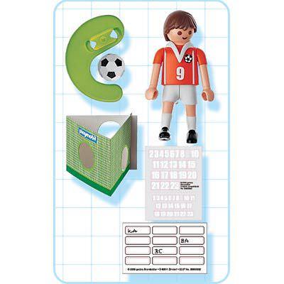 Playmobil 4713 - Jugador de Fútbol - Holanda - Volver