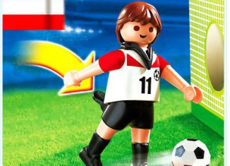 Playmobil - 4714 - Fußballspieler Österreich