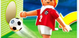 Playmobil - 4715 - Soccer Player - Switzerland