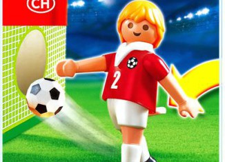 Playmobil - 4715 - Soccer Player - Switzerland