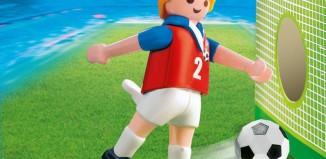 Playmobil - 4722 - Soccer Player - Czech Republic