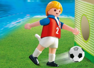 Playmobil - 4722 - Soccer Player - Czech Republic