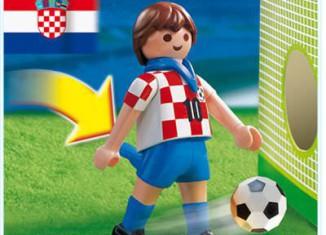 Playmobil - 4723 - Soccer Player - Croatia