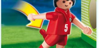 Playmobil - 4724 - Soccer Player - Turkey