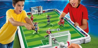 Playmobil - 4725 - Take Along Soccer Match