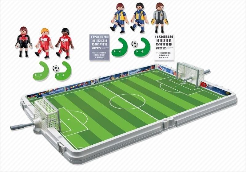 Playmobil 4725 - Große Fußball-Arena im Klappkoffer - Zurück