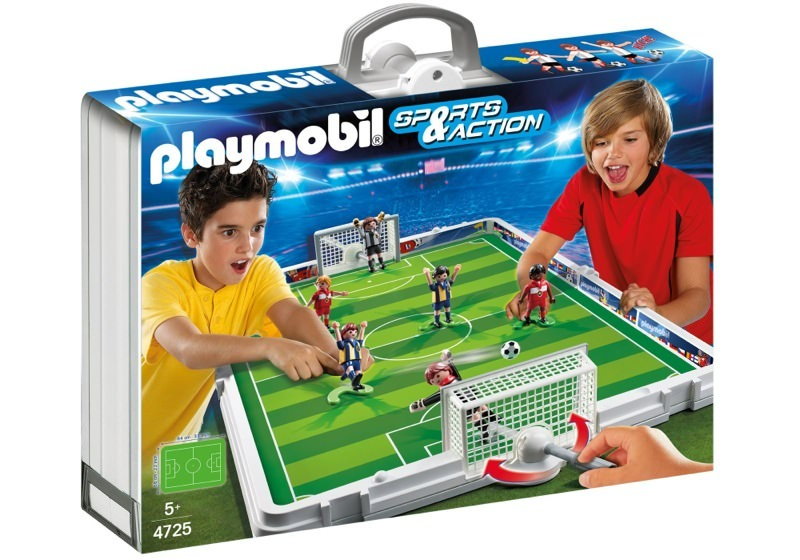 Playmobil 4725 - Take Along Soccer Match - Boîte