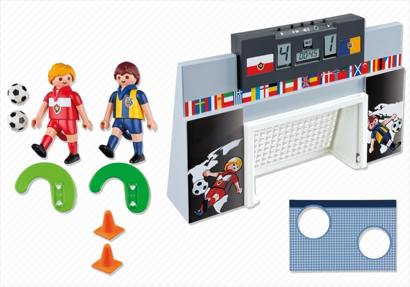 Playmobil 4726 - Soccer Shoot Out - Back