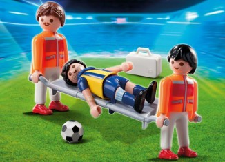 Playmobil - 4727 - Field Medics with Soccer Player