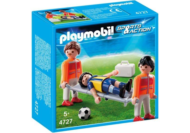 Playmobil 4727 - Field Medics with Soccer Player - Box