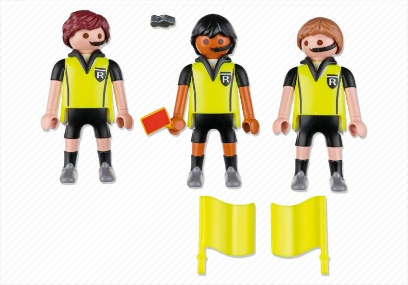Playmobil 4728 - Referees - Back