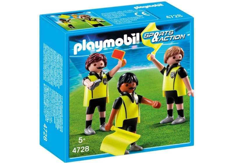 Playmobil 4728 - Referees - Box