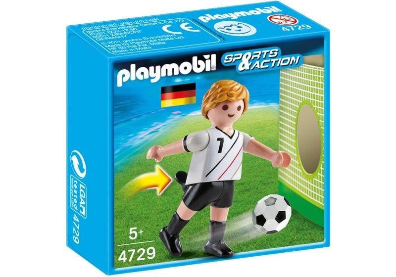 Playmobil 4729 - Soccer Player - Germany - Box
