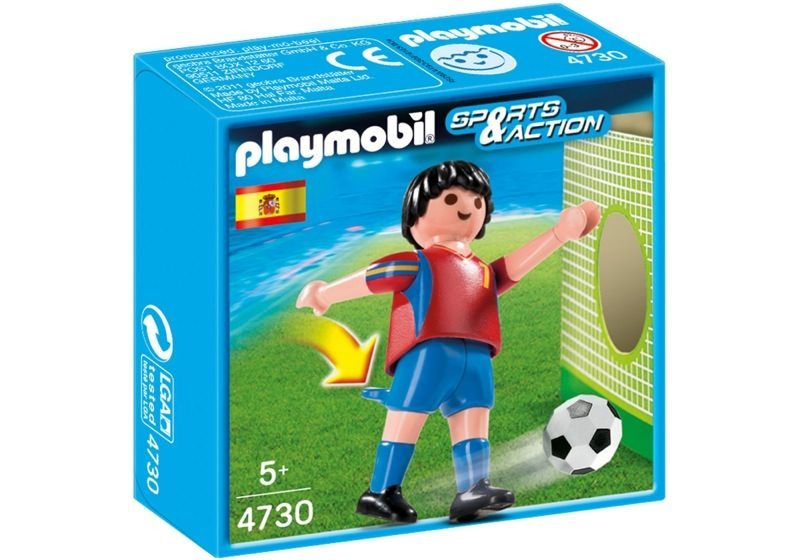 Playmobil 4730 - Soccer Player - Spain - Box