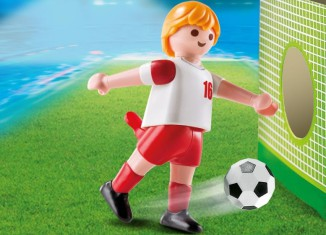 Playmobil - 4731 - Soccer Player - Poland