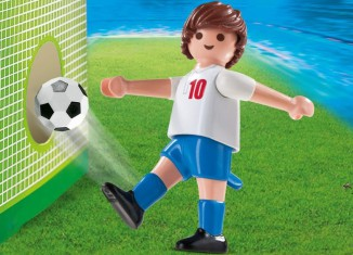 Playmobil - 4732 - Soccer Player - England