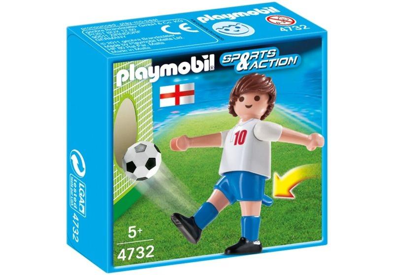 Playmobil 4732 - Soccer Player - England - Box