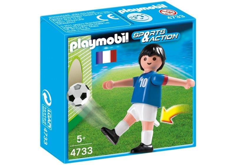 Playmobil 4733 - Soccer Player - France - Box