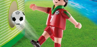 Playmobil - 4734 - Soccer Player - Portugal