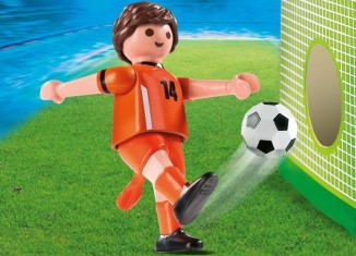 Playmobil - 4735 - Soccer Player - Netherlands