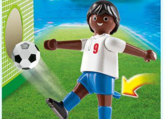 Playmobil - 4736 - England Football Player Black (Football)