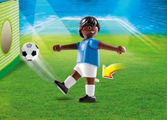 Playmobil - 4737 - Football Player, France Black