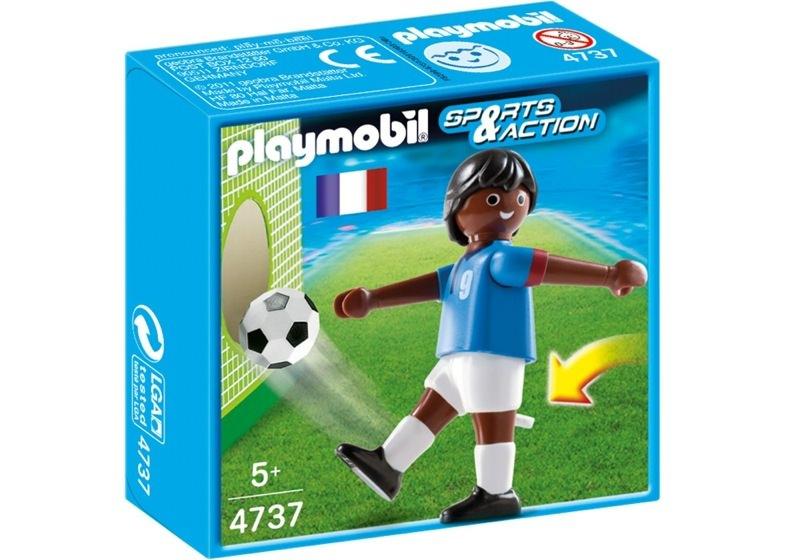 Playmobil 4737 - Football Player, France Black - Box