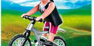 Playmobil - 4743 - Woman on Mountain Bike
