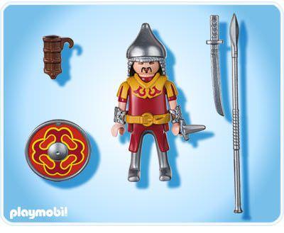 Playmobil 4745 - Mongolian Warrior - Back