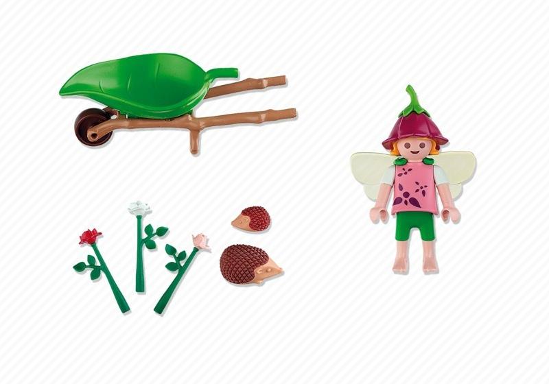 Playmobil 4751 - Little Flower Fairy - Back