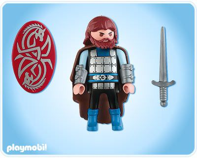 Playmobil 4752 - Celtic Knight - Back