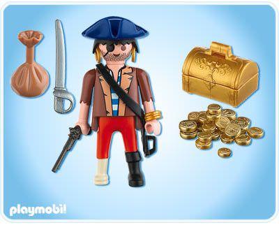 Playmobil 4753 - buccaneer - Back
