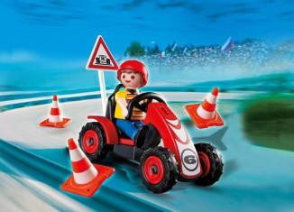 Playmobil - 4759 - Boy with Racing Kart