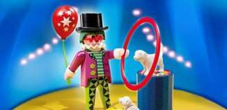 Playmobil - 4760 - Clown with Dog Show