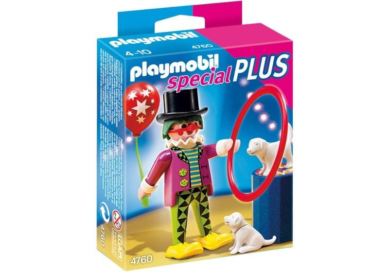 Playmobil 4760 - Clown with Dog Show - Box