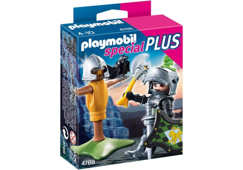 Playmobil 4768 - Lion Knight with Training Dummy - Box
