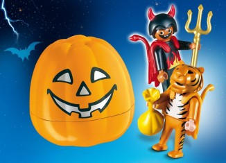 Playmobil - 4770 - Halloween Set 'Trick or Treaters'