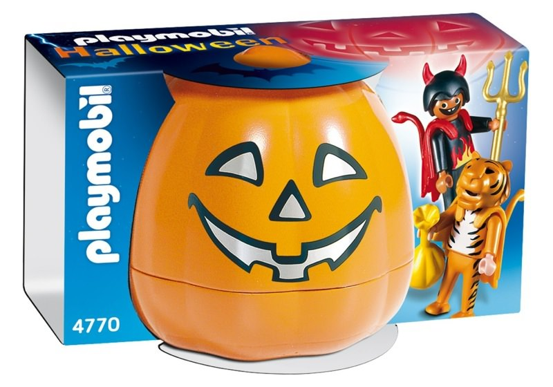 Playmobil 4770 - Halloween Set 'Trick or Treaters' - Box